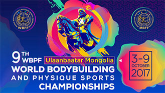 9th World Bodybuilding Ch. Mongolia