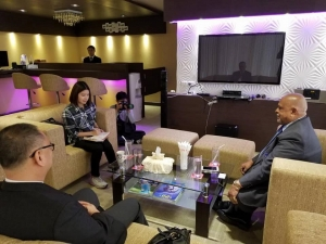 Datuk Paul Chua had an interview with BBC News