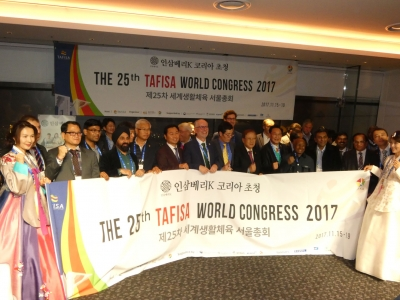 The World Celebrates Sport for All at 25th TAFISA World Congress